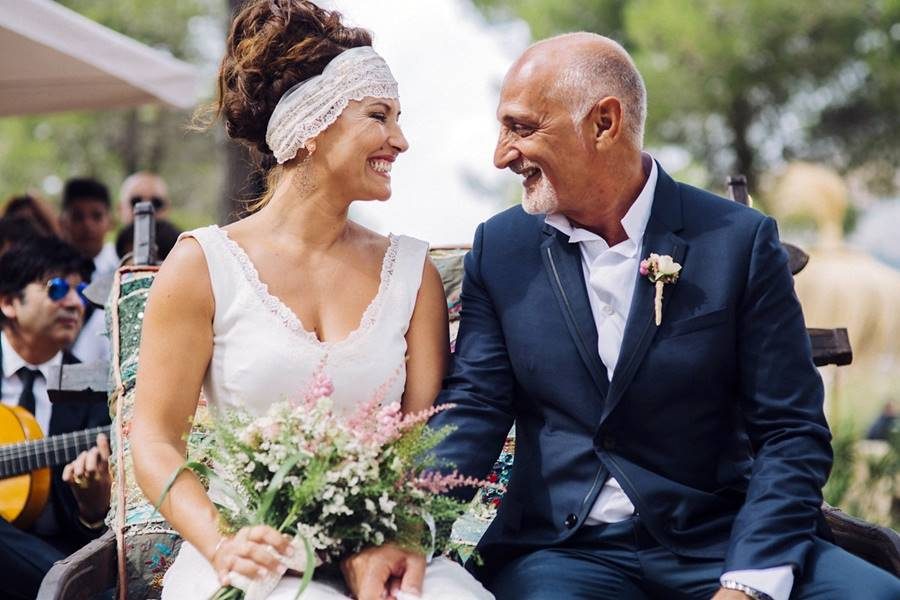 A&E · boda judía bohemian chic
