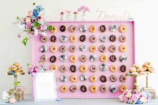 Pon un donuts en tu boda