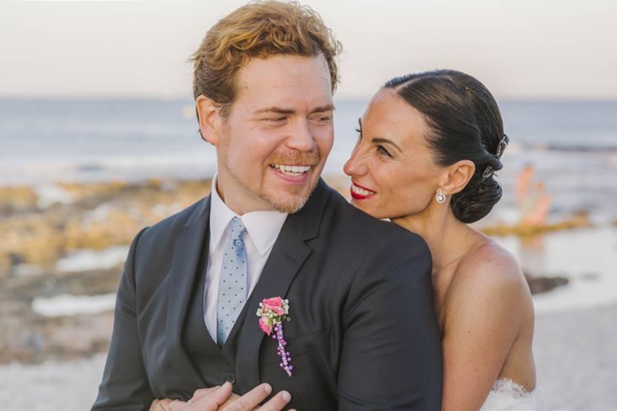 E&J · boda en la playa