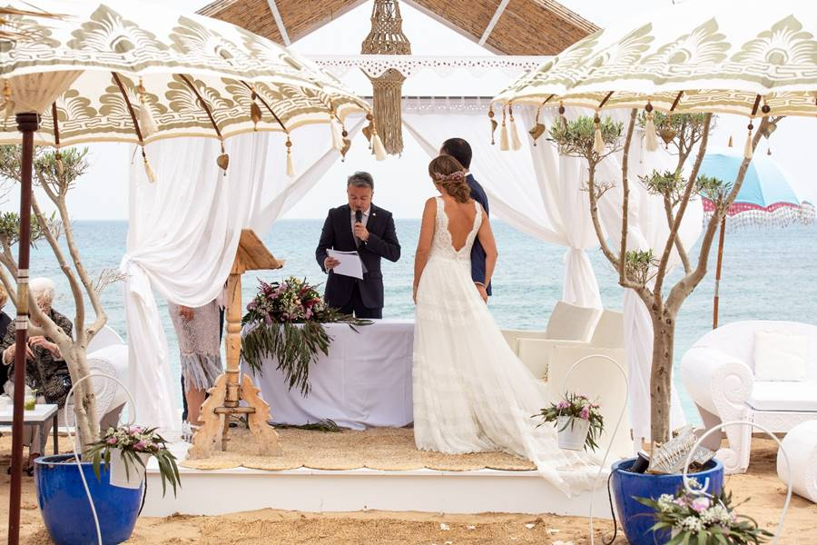 M&V · Javea Wedding